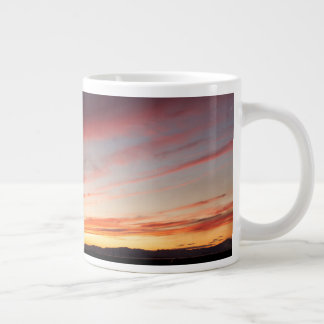 Caneca De Café Gigante Por do sol impressionante