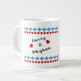 Caneca De Café Gigante Quando Harry encontrou Meghan