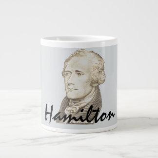 Caneca De Café Gigante Retrato clássico de Alexander Hamilton