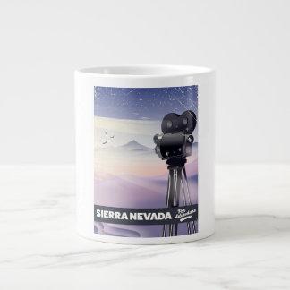 Caneca De Café Gigante Serra poster de viagens de Nevada