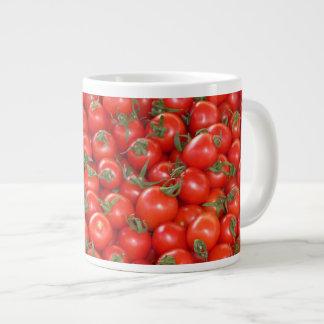 Caneca De Café Gigante Tomates vermelhos da videira