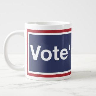 Caneca De Café Gigante Vote-os para fora! Vote para fora o GOP! Resista o