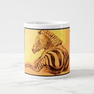 Caneca De Café Gigante Zebra   africana