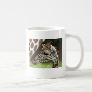 Caneca De Café Girafa alto do suporte