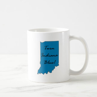 Caneca De Café Gire Indiana azul