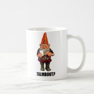 Caneca De Café Gnomo Talmbout? (Versão da reminiscência)
