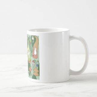 Caneca De Café Gnomos da floresta
