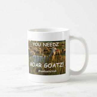 Caneca De Café goatz moar