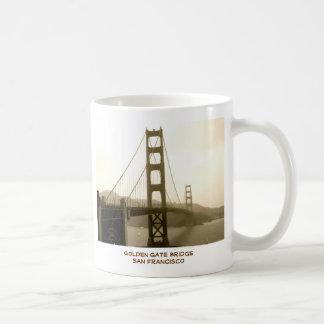 Caneca De Café Golden gate bridge San Francisco