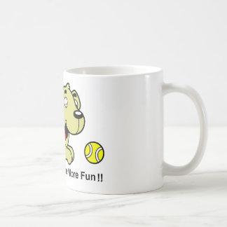Caneca De Café Golden retriever - os louros têm mais divertimento