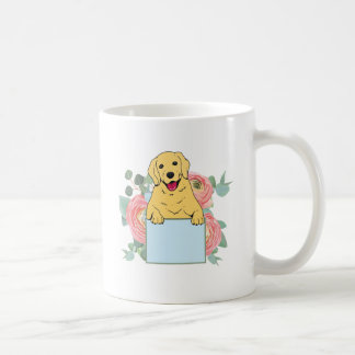 Caneca De Café Golden retriever que guardara o sinal
