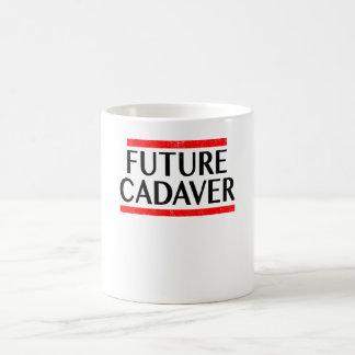 Caneca De Café Gótico futuro dos provérbios do Dia das Bruxas