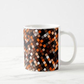 Caneca De Café Grade do pixel