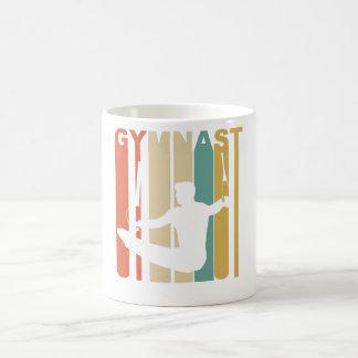 Caneca De Café Gráfico da ginástica do Gymnast do vintage