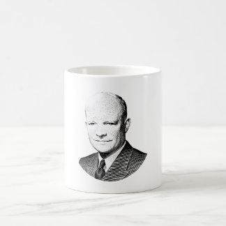 Caneca De Café Gráfico do presidente Dwight Eisenhower