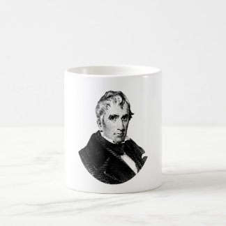 Caneca De Café Gráfico do presidente William Henry Harrison