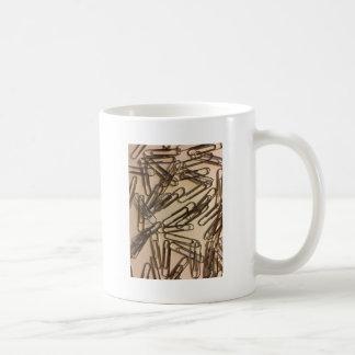 Caneca De Café Grampos de papel para a pessoa de papel
