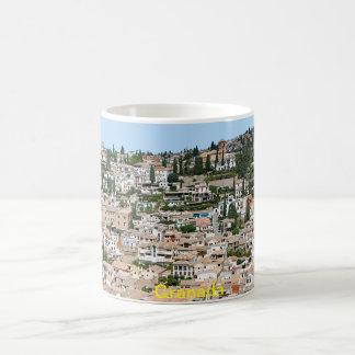 Caneca De Café Granada. Vista do Albaicin
