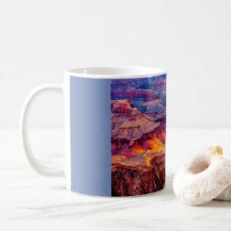 Caneca De Café Grand Canyon da noite atrasada