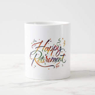 Caneca De Café Grande Aposentadoria feliz