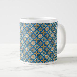 Caneca De Café Grande Azulejos de Alexandria