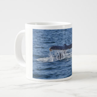 Caneca De Café Grande Cauda da baleia