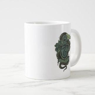 Caneca De Café Grande Crista de Harry Potter | Slytherin