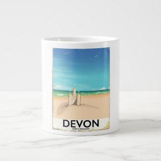 Caneca De Café Grande Devon, Inglaterra por um feriado