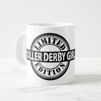 Caneca De Café Grande Edição limitada da menina de Derby do rolo, design