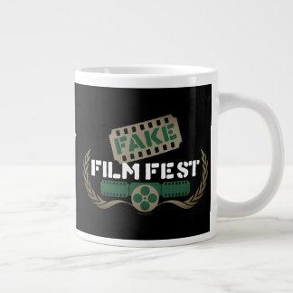 Caneca De Café Grande Festival de cinema falsificado