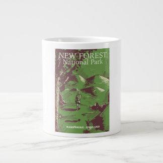 Caneca De Café Grande Floresta nova, Hampshire, Inglaterra