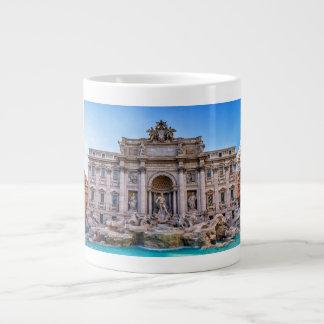 Caneca De Café Grande Fonte do Trevi, Roma, Italia