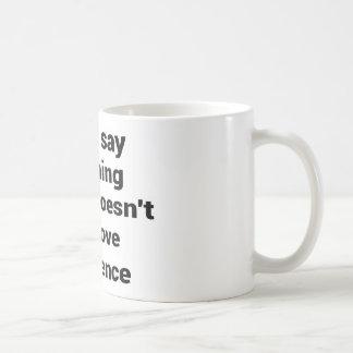 Caneca De Café Grande frase simples legal de tao da filosofia da