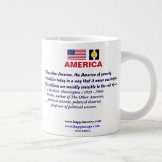 Caneca De Café Grande happiquotes - a outra América