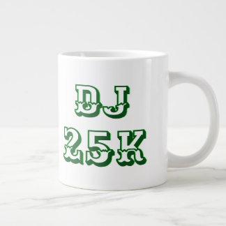 Caneca De Café Grande Inchamento do mercado de valores de acção do DJ