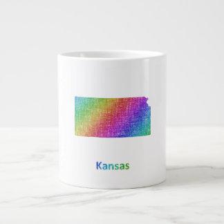 Caneca De Café Grande Kansas