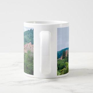 Caneca De Café Grande Montanhas e pináculos dos prados de Roxborough