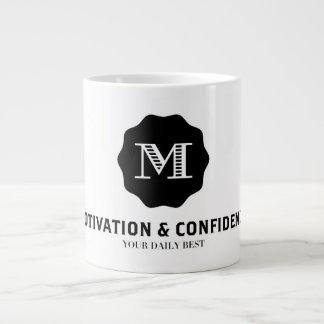 Caneca De Café Grande Motivação e confiança