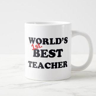 Caneca De Café Grande Mundo ø. O melhor professor
