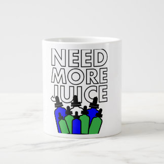 Caneca De Café Grande Need More Juice - Mug