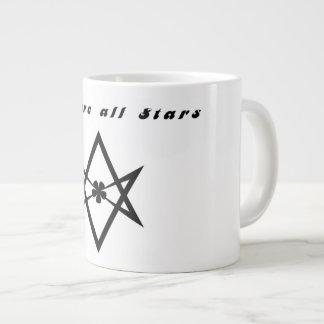 Caneca De Café Grande Nós somos todas as estrelas