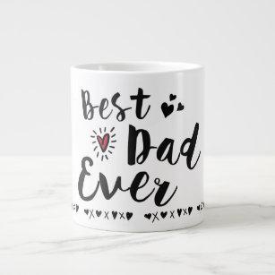 Caneca De Café Grande O melhor pai nunca