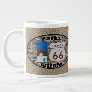 Caneca De Café Grande Parques históricos do ~ da rota 66, arizona