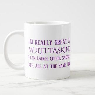 Caneca De Café Grande Pessoas adultas a multitarefas dos problemas
