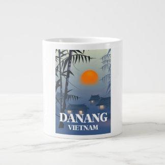 Caneca De Café Grande Poster de viagens de Vietnam do Da Nang