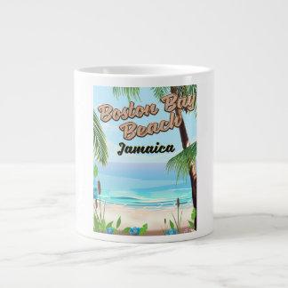 Caneca De Café Grande Praia da baía de Boston, Jamaica