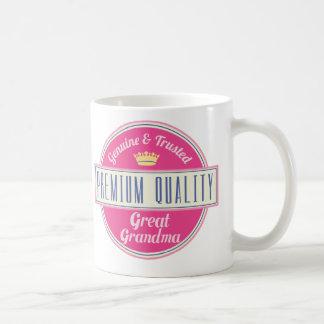 Caneca De Café Grande presente (engraçado) da avó