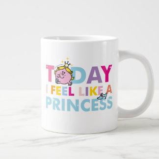 Caneca De Café Grande Senhorita pequena princesa | que eu sinto como uma