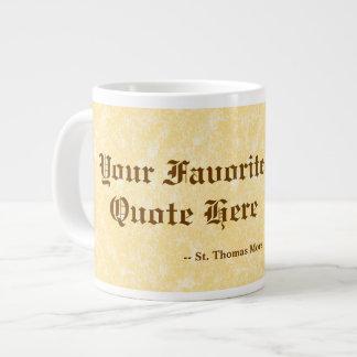 Caneca De Café Grande Seu favorito St Thomas mais citações enormes/extra