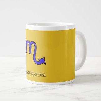 Caneca De Café Grande Símbolo da Escorpião